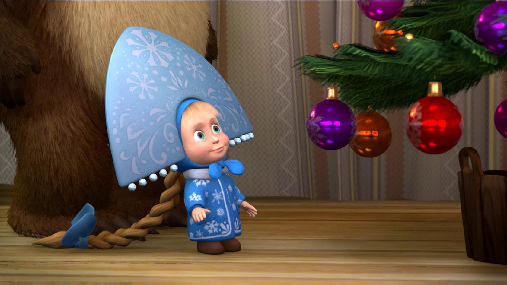 Маша снегурочка