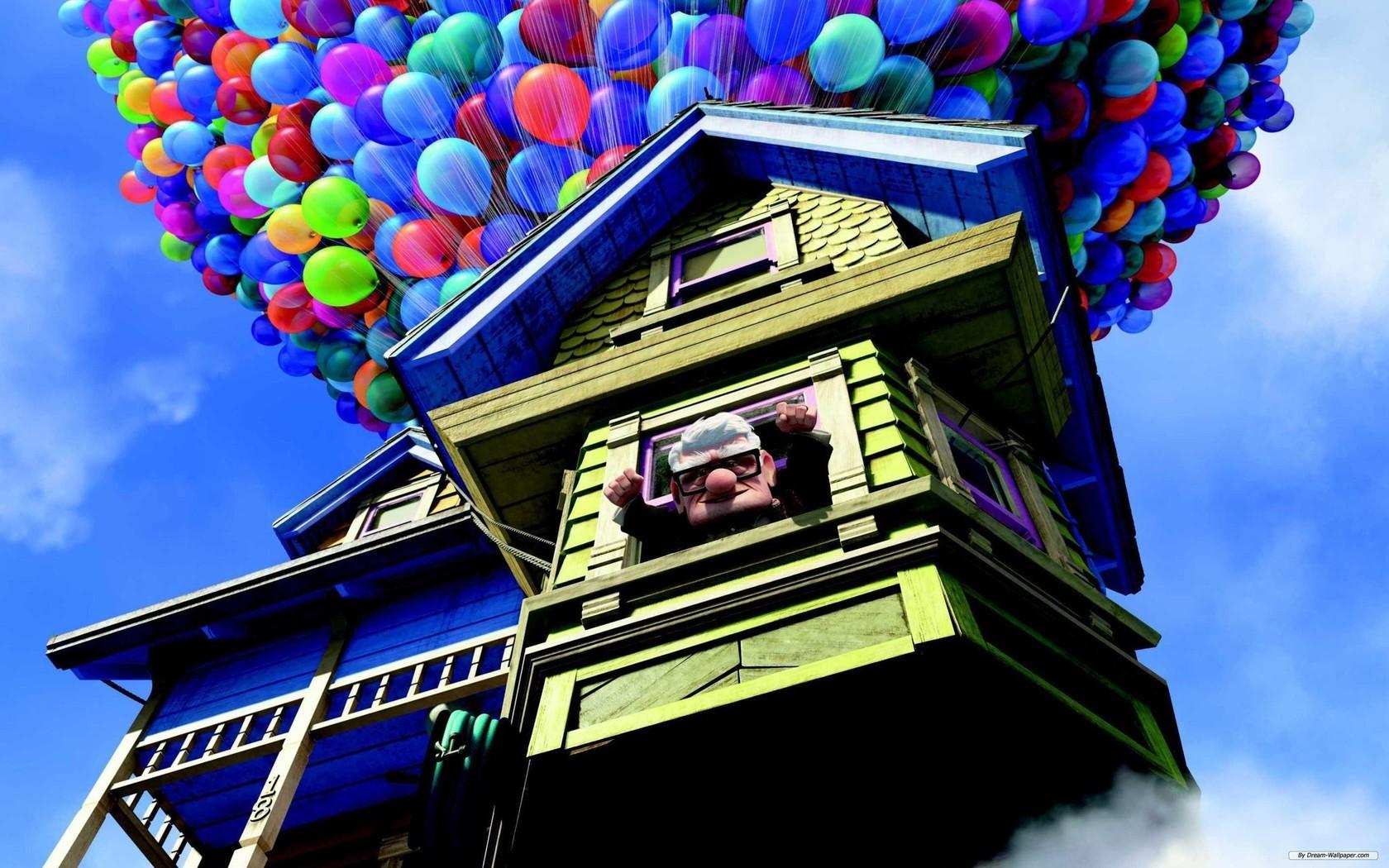 Картинка из фильма вверх дом небо